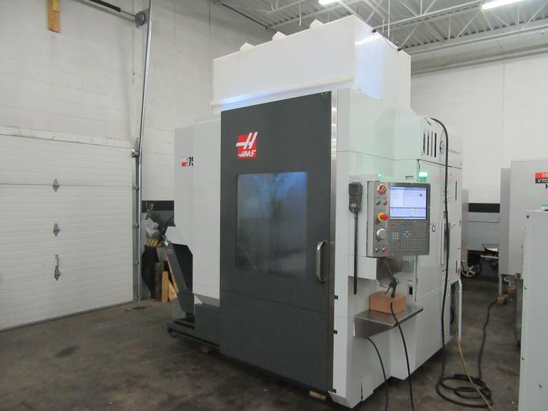 Haas UMC-750SS CNC 5-Axis Vertical Machining Center w Wireless Probing System and High Speed Machining
