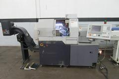 Citizen L20 Type VII CNC Swiss Screw Machine with Iemca MiniBoss 325 Servo Magazine Bar Feed