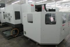 Haas EC-400 PP CNC Horizontal Machining Center with 6 Pallet Pool, 70 ATC, 12K Spindle, Probing, Chip Blaster TS Coolant