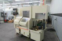 Wasino G6 CNC Gang Style Turning Center with Wasino S-Robo-1 Robotic Load / Unload Gantry System