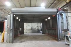 Eagle Spray Booths Drive Through Paint Curing Oven