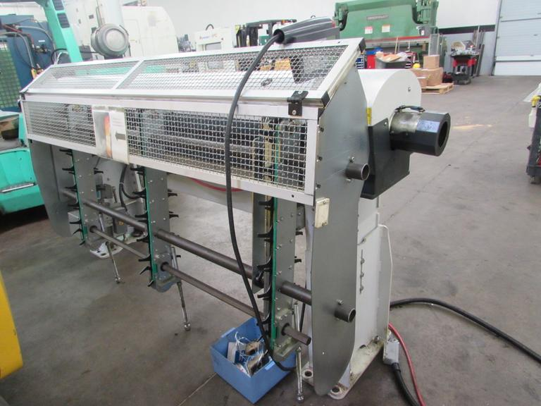 LNS MOVE Quick Six Servo Magazine Bar Feeder