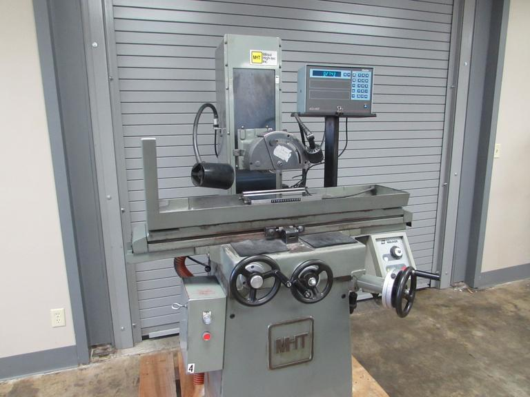 "Mitsui MSG-200MH 6""x12"" Hand Feed Surface Grinder with DRO and Chuck"