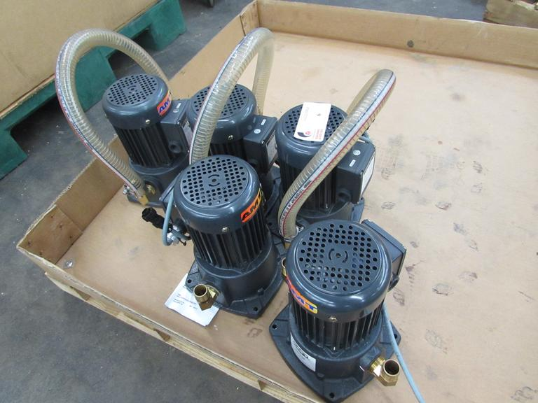(5) AMT 5370-95 3/4HP Coolant Pumps