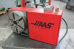 Haas HRT-210 Brush Type 4th Axis Rotary Table