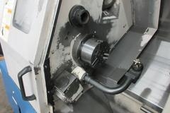 Daewoo Lynx 210A CNC Turning Center with Tailstock and Chip Conveyor
