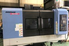 Doosan Mynx 5400 CNC Vertical Machining Center w Fanuc i Series CNC Control - New 2013