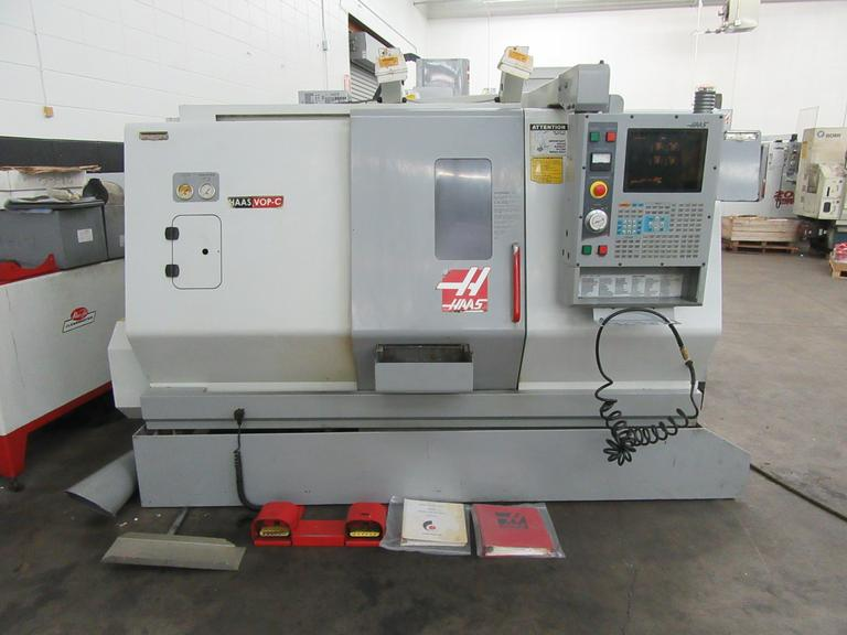 Haas SL-20T CNC 2-Axis Turning Center with Tailstock, Parts Catcher