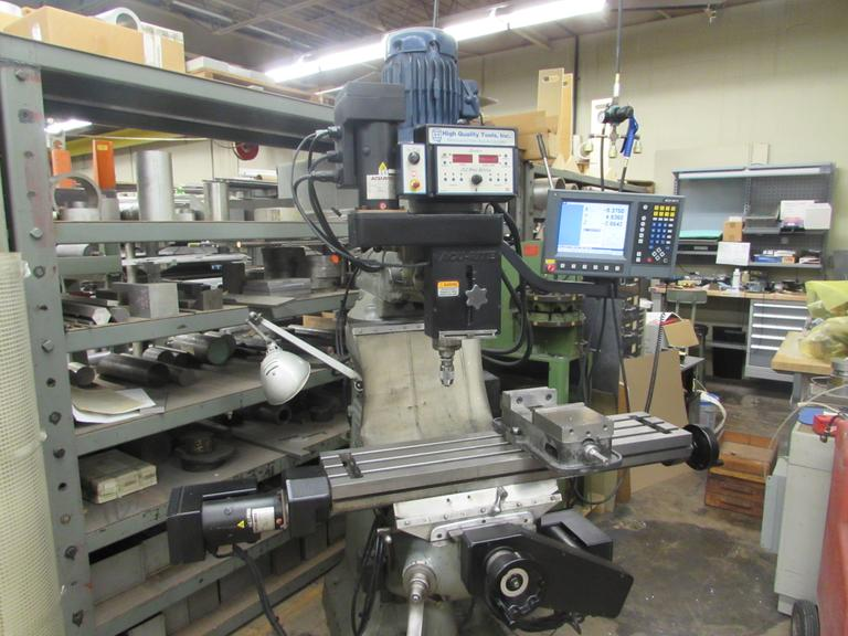 Bridgeport Model 1J with 3-Axis Acu-Rite Millpwer CNC Conversion and 3HP Variable Speed Spindle