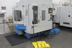 Supermax YCM-FV56T CNC Vertical Machining Center with Pallet Changer, 12,000 RPM Spindle and Fanuc Control