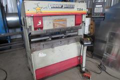 Accurpress 7254 CNC Hydraulic Press Brake with ETS 250 Control