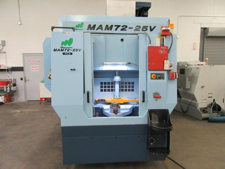 Matsuura MAM72-25V PC2 5-Axis CNC Vertical Machining Center with (2) Pallet Changer, High Pressure TS Coolant
