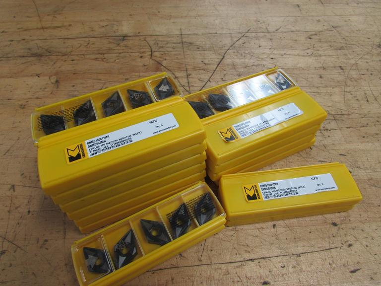 (120) Kennametal DNMG543MN Carbide Inserts
