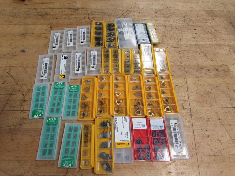 Assorted Carbide Inserts