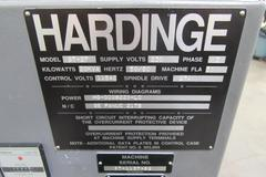 Hardinge Conquest GT-27 CNC Gang Style Turning Center, with Gang Plate, Parts Catcher and High Pressure Coolant