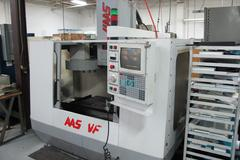 Haas VF-0 CNC Vertical Machining Center with Brush Type 4th Axis Drive