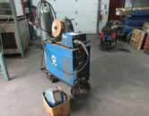 Miller CP-200 WIre Feed MIG Welder with Cart, Feed Unit, Tweco Torch- Tanks Not Included