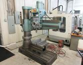 "Wilton Radial Arm Drill, Model 521301 4' Arm, 11"" Column, Power Clamping, Power Arm Elevation"