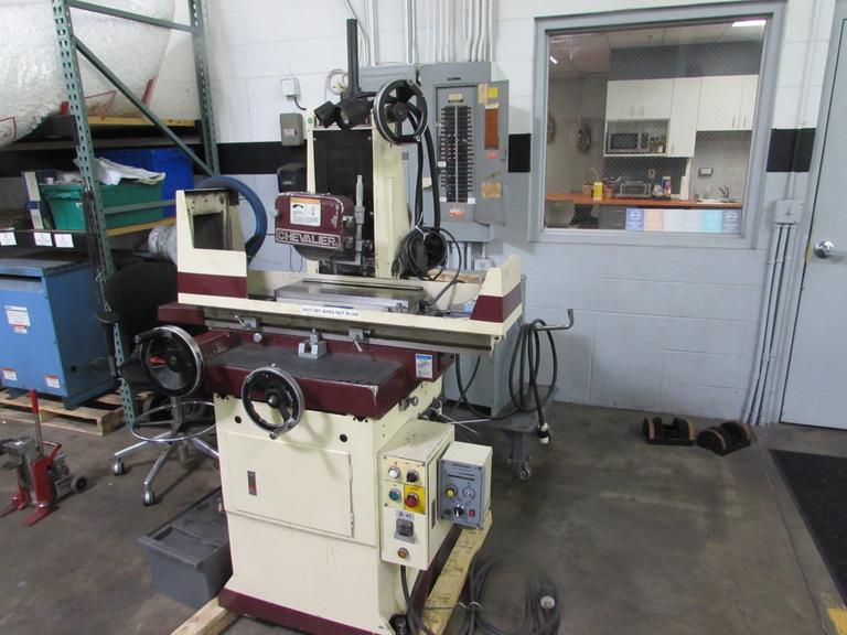 Chevalier FSG-618M Manual Surface Grinder with Coolant Tank
