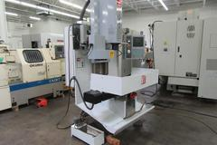 Haas TM-1 CNC Toolroom Mill with 4th Axis Brushless Drive and Wiring, 10 Station Tool Changer -Only 872 Spindle Hours!