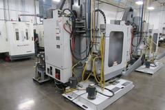 Haas VF-2 Super-Speed CNC Vertical MAchining Center with Probing, High Pressure Thru-Spindle Coolant, 4th axis Drive