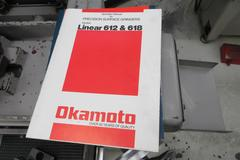 "Okamoto Linear 6.12/14 6"" X 12"" Surface Grinder, with Heidenhain 2-Axis Digital Readout, Walker Magnetic Chuck"