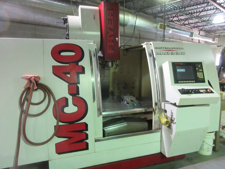 Fryer MC-40 CNC Vertical Machining Center with Anilam 6000 CNC Control