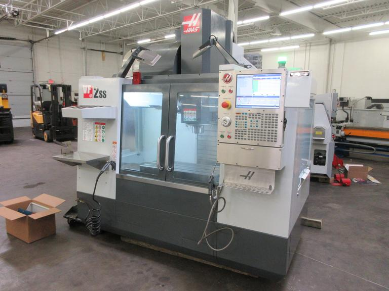 Haas VF-2SS CNC Vertical Machining Center with High Speed Machining