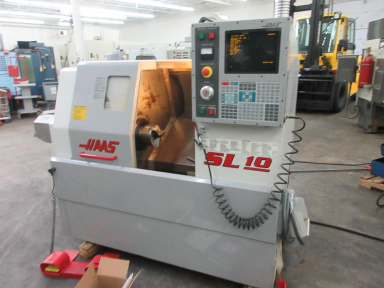 Haas SL-10T CNC Turning Center with Hydraulic Tailstock