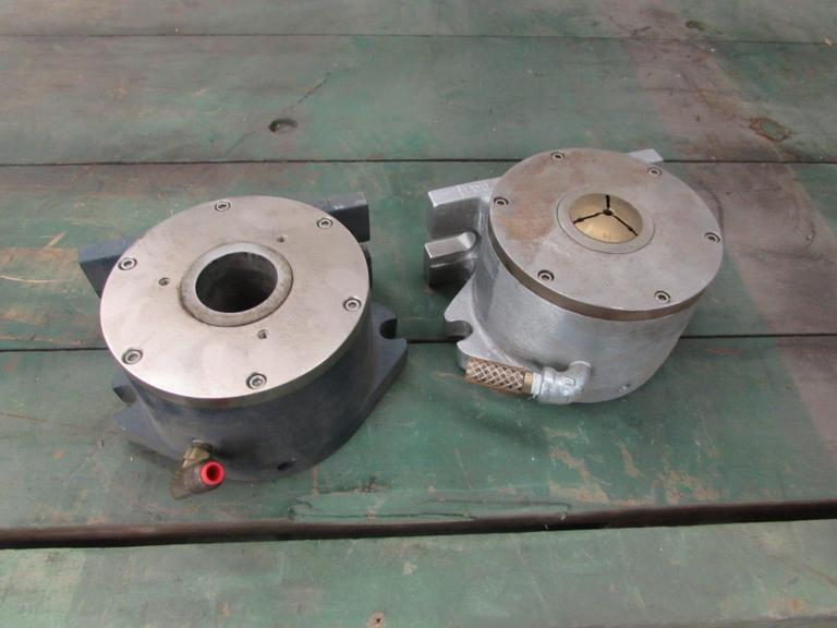 (2) 5C Pneumatic Collet Closers, Vertical/Horizontal Mount