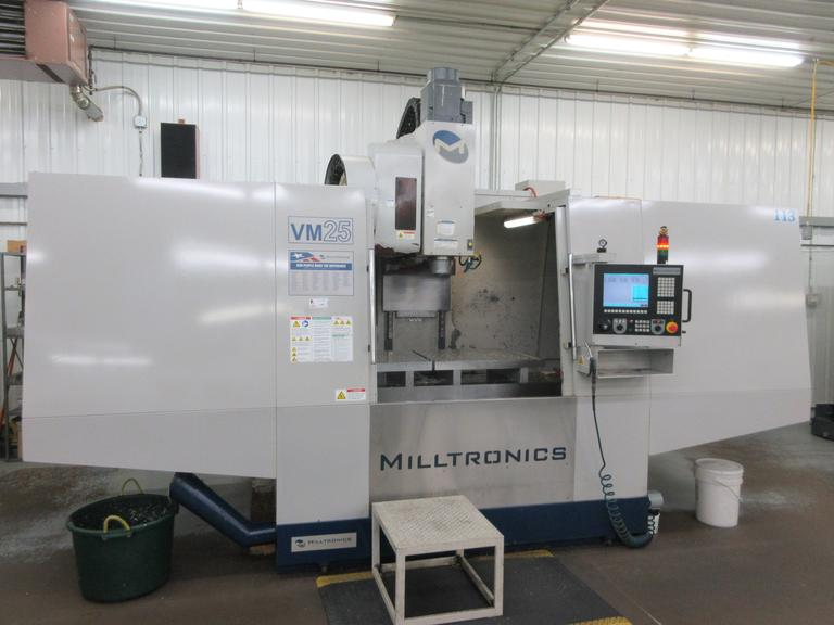 Milltronics VM25 CNC Vertical Machining Center