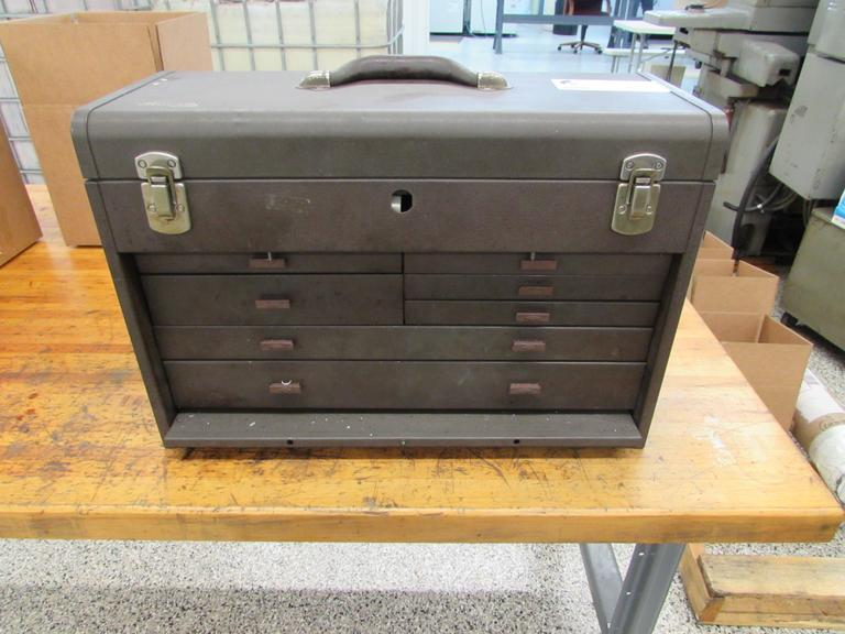 Kennedy 7-Drawer Tool Chest with Contents as Shown