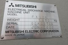 Mitsubishi FX-10K CNC Wire EDM ( Electrical Discharge Machine )