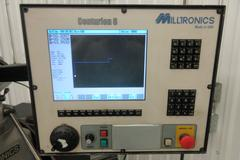 Milltronics Partner 3 CNC 3-Axis Vertical Knee Mill with Centurion 6 CNC Control
