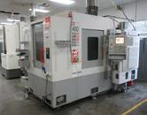 Haas EC-400 4-Axis CNC Horizontal Machining Center with (2) Pallet Changer