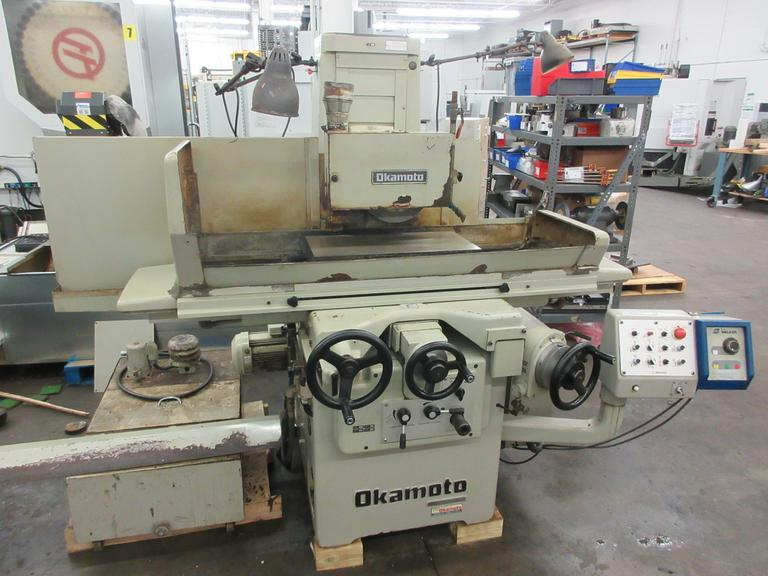 "Okamoto ACC-124Z 12"" x 24"" 3-Axis Automatic Hydraulic Surface Grinder"