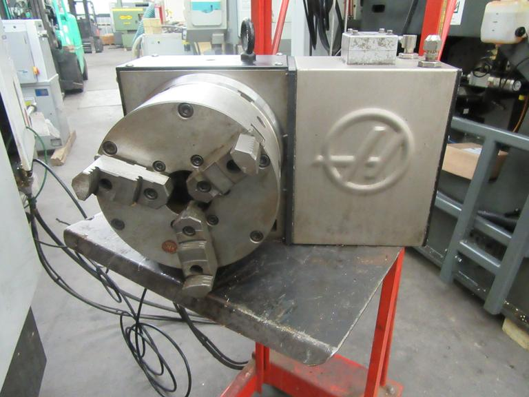 Haas HRT-210 Brushless Sigma-5 4th Axis Rotary Table