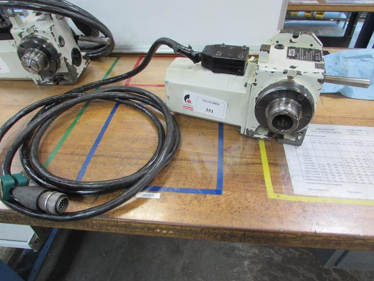 Haas HA5C Brushed Type Programmable 5C Indexer with Hand Type Collet Closer