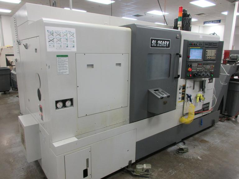 Samsung SL25ASY CNC Turning Center with Sub-Spindle, Live-Milling, C-Axis Programmable, Y-Axis