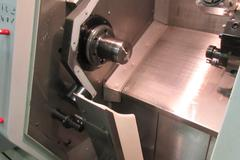 Haas SL-20 CNC Turning Center with Live Milling, C-Axis Programmable, and Tailstock