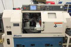 Miyano BNJ-51SY2 CNC Turning Center, 2-Turrets, Sub-Spindle, Live Milling, C-Axis, Y-Axis Programmable