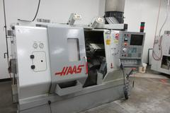 Haas SL-20 CNC Turning Center with Tailstock, Tool Presetter, Parts Catcher, Chip Conveyor, Mist Colector