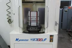 "Kitamura MyCenter HX300iF CNC Horizontal Machining Center, 20,000 RPM (2) 12"" x 12"" Pallets, 4th Axis"
