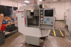 Haas MiniMill CNC Vertical Machining Center with 4th Axis Drive, Coolant System