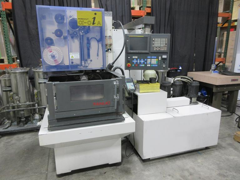 Fanuc Robocut OiA-S/AWF CNC Wire EDM Electrical Discharge Machine