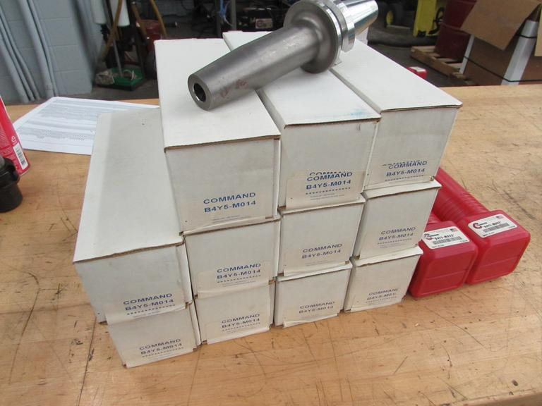 (14) New, Command Heat Shrink BT40 Tool Holders