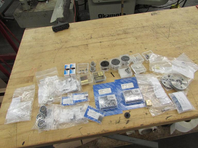 Assorted Consumable and Repair Parts for Makino SP43 CNC Wire EDM