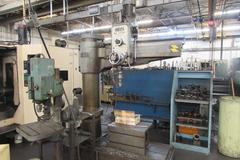 Ooya RE-1225H Radial Arm Drill with Box Table