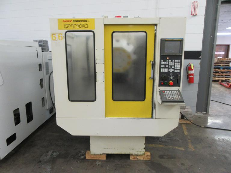 Fanuc RoboDrill Alpha T10-C CNC Vertical Machining Center with 12,000 RPM Spindle