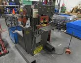 Edwards Jaws IV 60-Ton Hydraulic Ironworker with Bar Shear Attachment & Punch Tooling